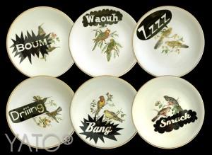 029 CU0041 - COMICS BIRDS - Compo 72 copie