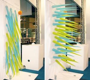 Spiky : le rideau de douche écolo d'Elisabeth Buecher