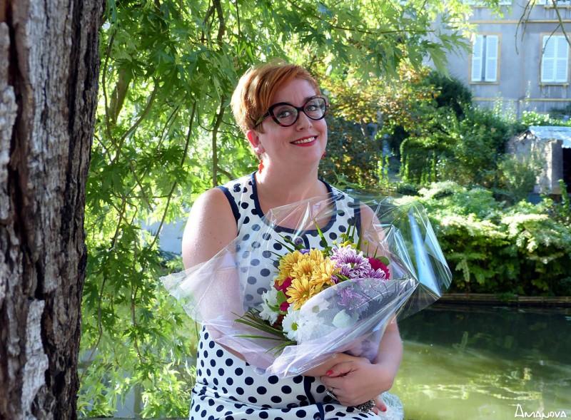 Rachel Papa, la femme qui compose les bouquets pour la paix